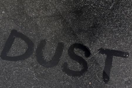 unsanitary: Dust