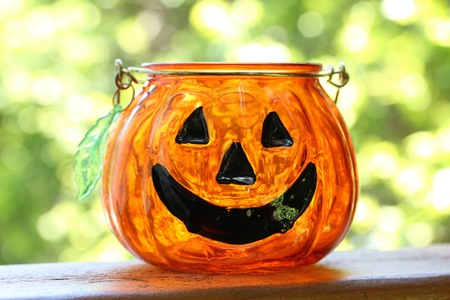candle holder: Halloween Candle Holder
