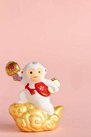 Japanese Monkey Ornament