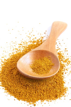 curry powder: Curry Powder on White Background