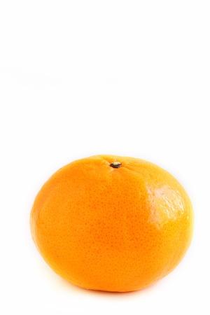 mandarin orange: Mandarin Orange on White Background