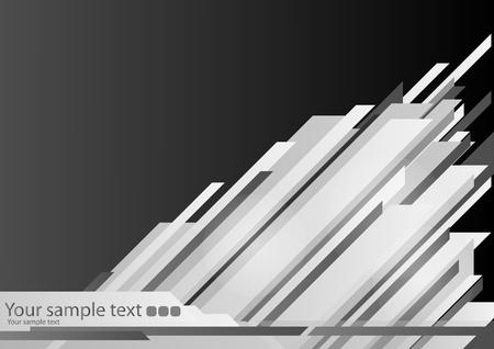 High-tech black background Vector