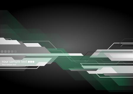 e new: High-tech black background