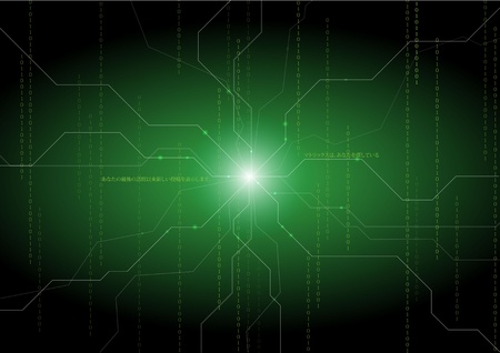 Green abstract backgraounds Vector