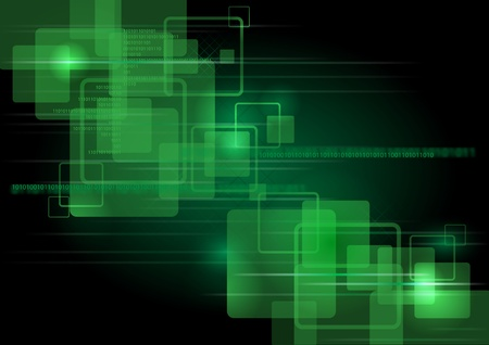 advanced computing: Green abstract backgraounds