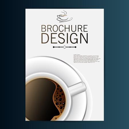 brochure design vector color style Vector