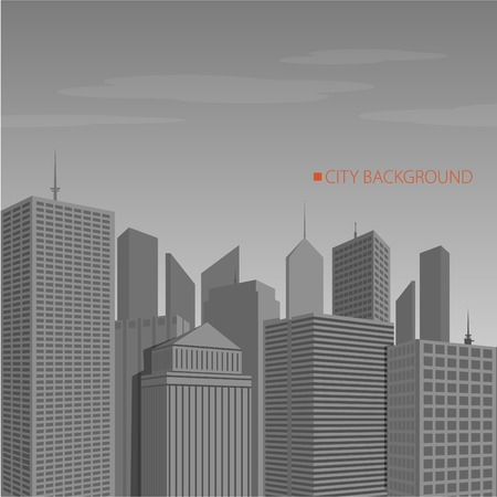 City Landscape vector illustration eps10 Vector