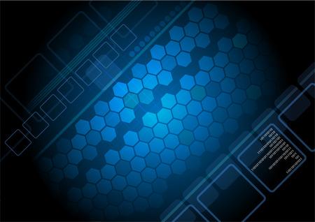 www: High-tech dark background
