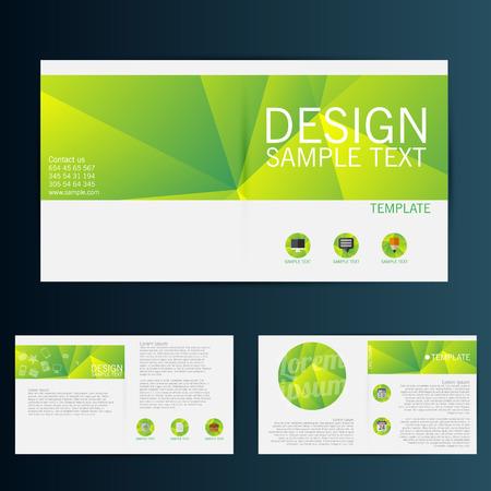 Brochure Flyer design vector template Ilustração