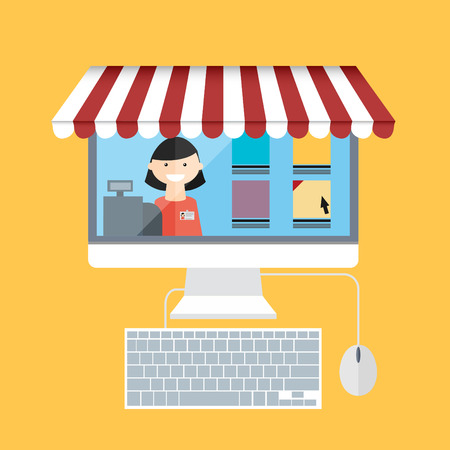 carport: On line store. Monitor with seller