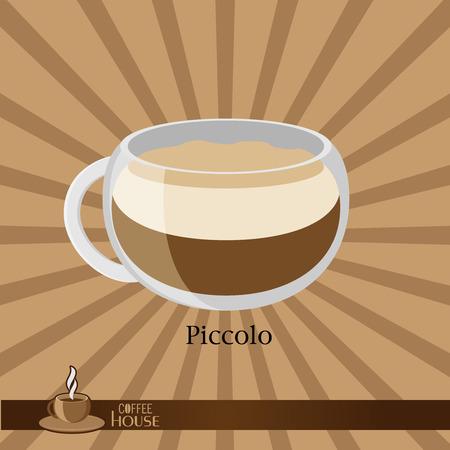 sip: La taza de caf� sobre un fondo marr�n.