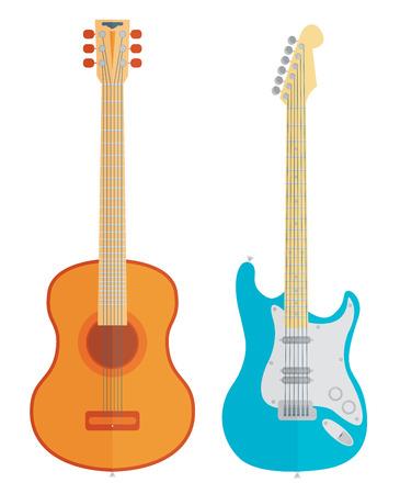 Vector guitars set