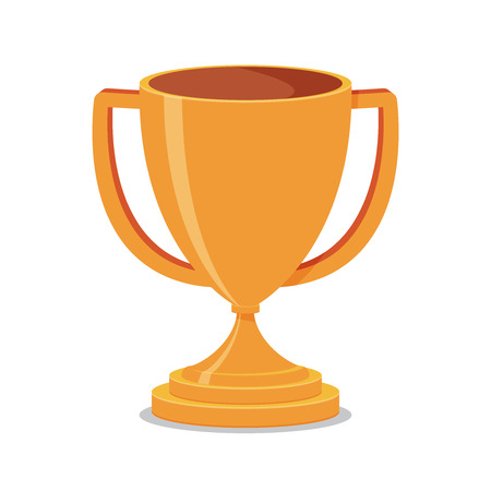 the first prize: Trophy Cup Flat
