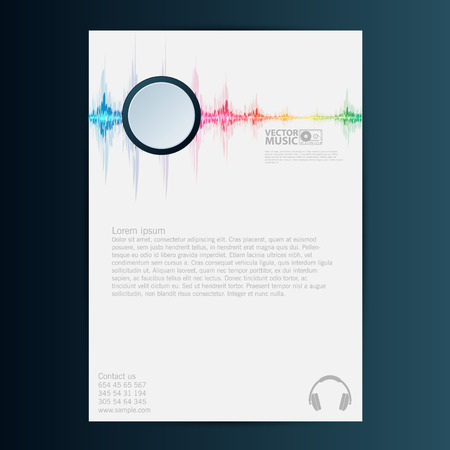 brochure flyer design vector template eps 10 royalty free cliparts vectors and stock illustration image 41439444 - Flyer Muster