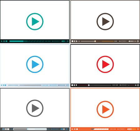 Video player for web set