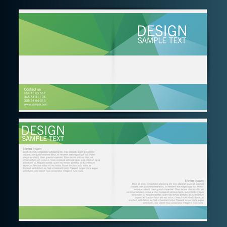 brochure cover: Brochure Flyer design vector template. Eps 10 Illustration