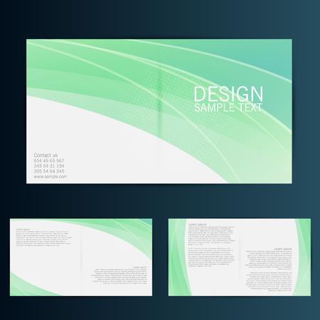 Modèle de vecteur de conception de Brochure Flyer. Eps 10 Banque d'images - 41447426