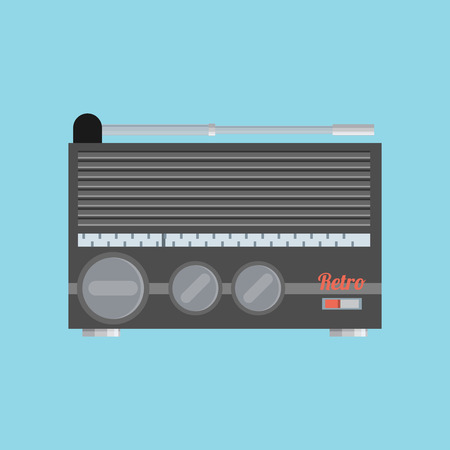 favorite colour: Flat radio icon.