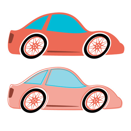 moder: Cars vector. Flat style
