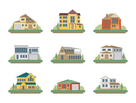 residential: Flat Residential Houses