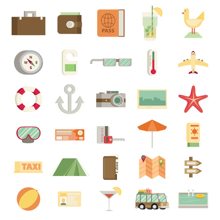 Dünne Linie Abgerundet Icons Set Und Grafik-Design-Elemente ...