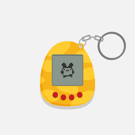Pets pocket game. Flat style design - vector