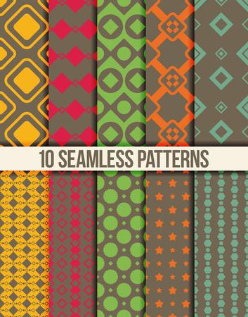 Diez patrones geométricos sin costuras