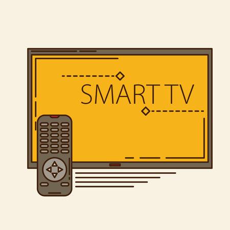 ver television: dise�o del reloj TV Movie