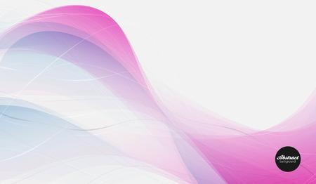 Abstract vector background, transparent waved lines for brochure, website, flyer design.