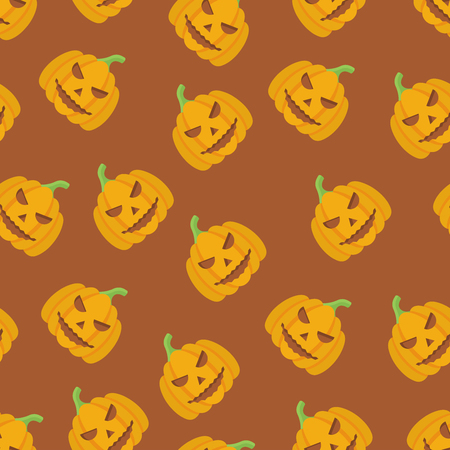 Holiday Seamless Halloween Pattern