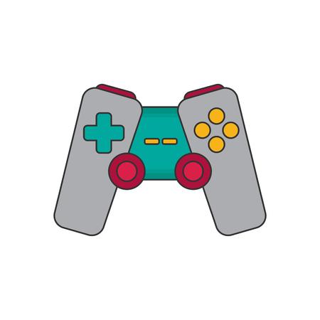 Joystick. Flat icon