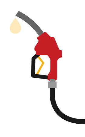 Fuel nozzle add fuel Illustration