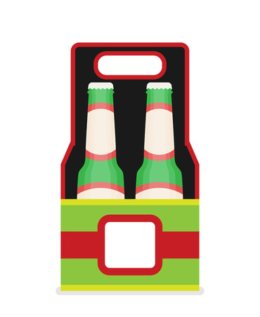 Six Pack Beer Stock Vector Illustration And Royalty Free Six Pack Beer Clipart