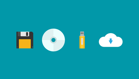 Flat vector evolution of storage devices