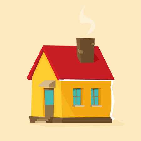 House. flat style vector illustration 向量圖像