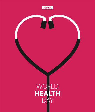 World Health Day Poster Or Banner Background