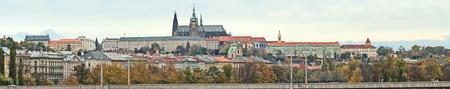 Czech Republic, Prague, Panarama, view of Prague Castle Stock Photo - 8355859