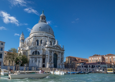 Basilica of Santa Maria della Salute in Venice, built in honor of deliverance from the plague in the years 1631-1681