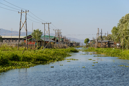 Inle Lake, Myanmar Stock Photo