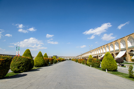 suq: Naqsh-e Jahan Square, second biggest place of the world, Isfahan, Iran