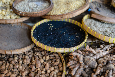 suq: Spices on a daily market, Lombok