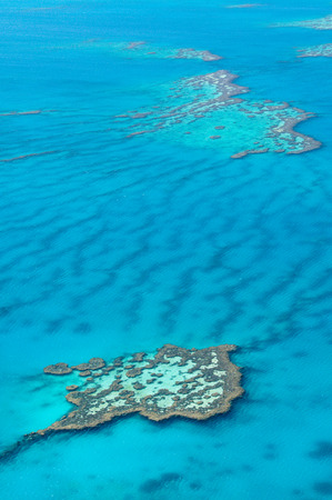 Scenic flight over Great Barrier Reef, Australia