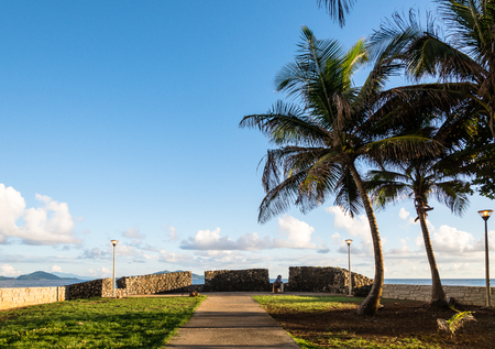 Old Fort Grande Anse in Trois-Rivières, Guadeloupe