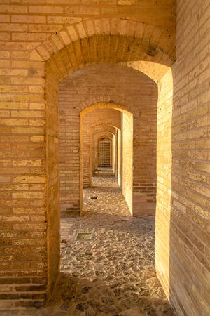 isfahan: Khaju-Bridge, Isfahan, Iran