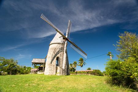 伝統的な風車」Bezard「マリー ・ ガラント島、グアドループ (仏領) で