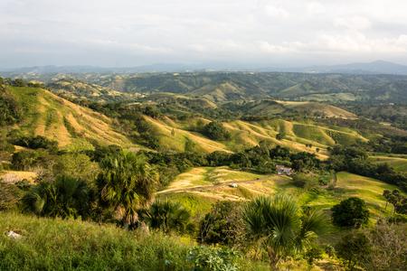 Tal um die Berge von San Jose de las Matas, Dominikanische Republik