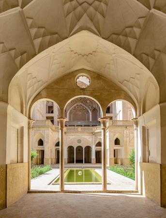 カーシャーン、イラン - 2015 年 4 月 29 日: 歴史的 Abbasi 家