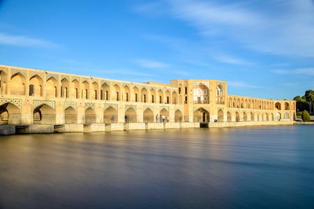Khaju 橋, イスファハン, イラン