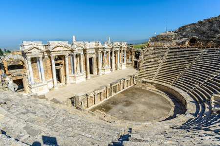 Amphitheater of Hierapolis, Turkey