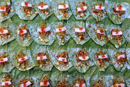 ミャンマー伝統的なビンロウ準備